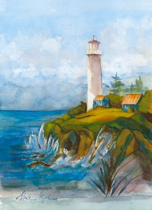 The Lighthouse by Sheila Stephens.