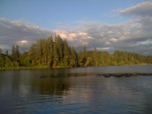 Lackamas Lake, WA.
