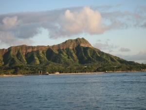 A gorgeous January 30th day 2009, Diamond Head, Hawaii.