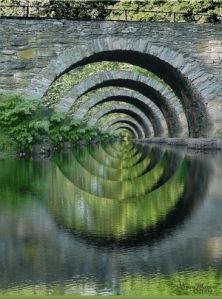 Old Roman Bridge, England